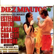 Coleccionismo Calendarios: CALENDARIO DE BOLSILLO CON PUBLICIDAD DIEZ MINUTOS AÑO 1988. Lote 251523635