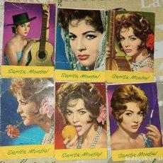 Coleccionismo Calendarios: LOTE CALENDARIOS BOLSILLO SARA MONTIEL. 1965. Lote 251714155