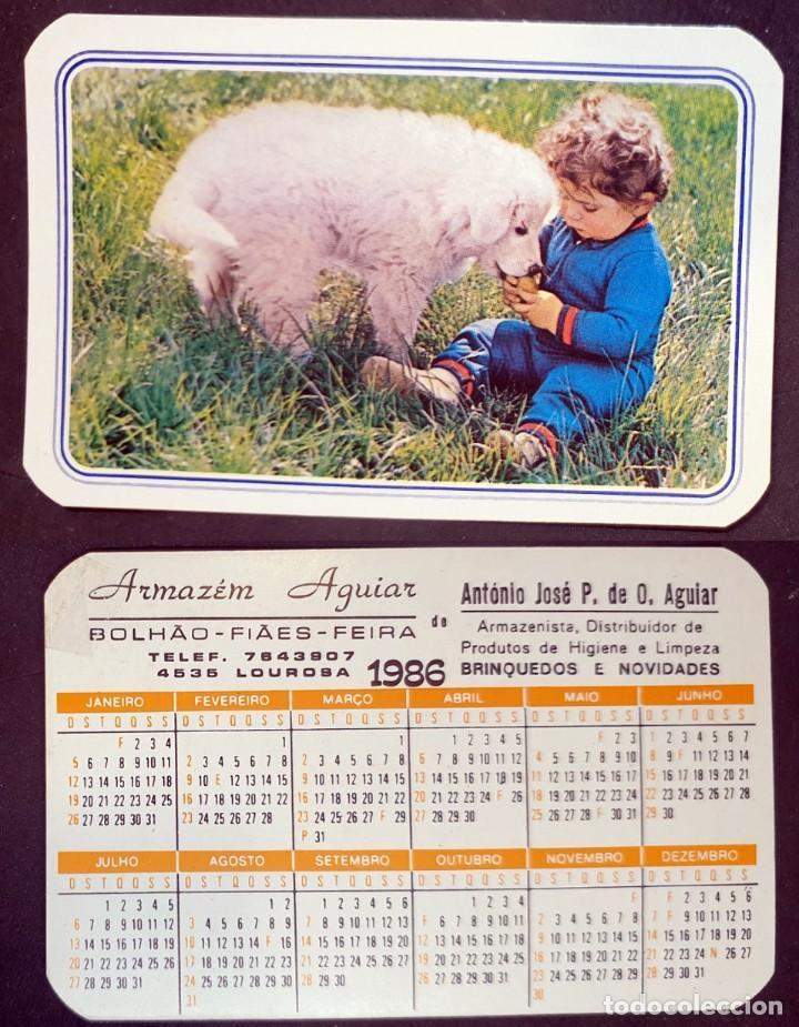 INFANTIL - CALENDARIO EDITADO EN PORTUGAL - AÑO 1986 (Coleccionismo - Calendarios)