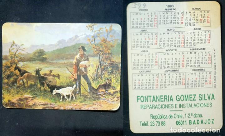 CALENDARIO EDITADO EN ESPAÑA BADAJOZ - AÑO 1993 (Coleccionismo - Calendarios)