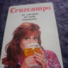 Coleccionismo Calendarios: CALENDARIO FOURNIER DE 1969 CERVEZA CRUZCAMPO. Lote 253943280