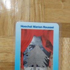 Coleccionismo Calendarios: CALENDARIO PUBLICITARIO HOECHST MARION ROUSSEL. SALVADOR DALI. PLASTIFICADO. AÑO 1999. VER FOTOS. Lote 254032430