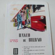 Coleccionismo Calendarios: CALENDARIO FOURNIER BANCO DE BILBAO DE 1963. Lote 254070230