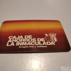 Coleccionismo Calendarios: CALENDARIO CAJA DE AHORROS DE LA INMACULADA 1982. Lote 254070850