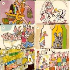 Coleccionismo Calendarios: COLECCIÓN DE 12 CALENDARIOS DE PORTUGAL - 1992 - HUMOR. Lote 255984375