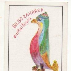 Coleccionismo Calendarios: CALENDARIO BILBO ZAHARRA APRENDIZAJEDE VASCO 1985 NUEVO. Lote 260862455