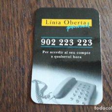 Coleccionismo Calendarios: CALENDARIO DE PUBLICIDAD, LA CAIXA AÑO 1996 EN CATALÁN.. Lote 261294890
