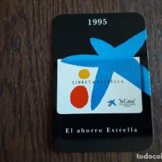Coleccionismo Calendarios: CALENDARIO DE PUBLICIDAD, LA CAIXA AÑO 1995, EN CASTELLANO.. Lote 261295185