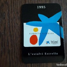 Coleccionismo Calendarios: CALENDARIO DE PUBLICIDAD, LA CAIXA AÑO 1995, EN CATALÁN, FESTIVO EN BALEARES Y CATALUÑA.. Lote 261295230