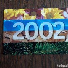 Coleccionismo Calendarios: CALENDARIO DE PUBLICIDAD, CAIXA DE CATALUNYA AÑO 2002 EN CASTELLANO.. Lote 261295405