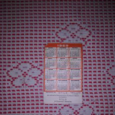 Coleccionismo Calendarios: CALENDARIO DE BOLSILLO 1969 .STILO LUGO. Lote 261303445