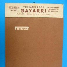 Coleccionismo Calendarios: CALENDARIO PIRELLI PARA 1962. REGALO DE VULCANIZADOS BAYARRI. SEIX BARRAL. BARCELONA.. Lote 262879295