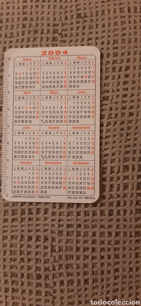 Coleccionismo Calendarios: Libreria Salesiana Pamplona 2004 - Foto 2 - 263189770