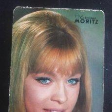 """Coleccionismo Calendarios: CALENDARIO DE BOLSILLO """"CERVEZAS MORITZ"""" CON MARISOL AÑO 1970. Lote 263192080"""