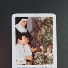 Coleccionismo Calendarios: CALENDARIO BOLSILLO - OBRA MISIONAL PONTIFICIA SANTA INFANCIA - FOURNIER - AÑO 1968. Lote 263767010