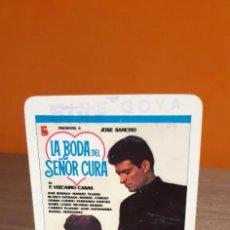 Coleccionismo Calendarios: CALENDARIO DE BOLSILLO FOURNIER LA BODA DEL SEÑOR CURA (SALIDA1€). Lote 263771010