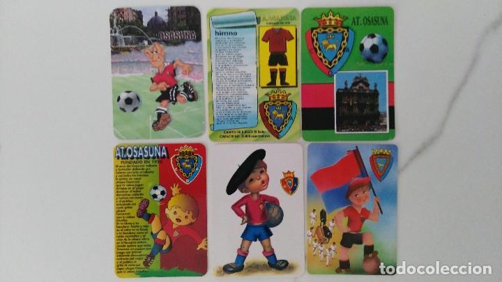 6 CALENDARIOS DE FUTBOL DE OSASUNA (Coleccionismo - Calendarios)