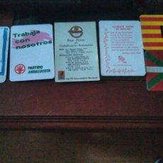 Collectionnisme Calendriers: ALMANAQUE POLÍTICOS , SINDICALES , POLÍTICA. Lote 267323374
