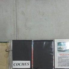 Coleccionismo Calendarios: ENVIÓ GRATIS. ÁLBUM CALENDARIOS DE BOLSILLO 2008 COCHES. Lote 267353374