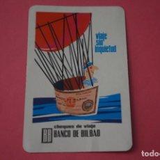 Collectionnisme Calendriers: CALENDARIO DE BOLSILLO FOURNIER BANCO DE BILBAO AÑO 1966 LOTE 2 MIRAR FOTOS. Lote 267622544