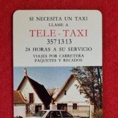 Collectionnisme Calendriers: CALENDARIO FOURNIER PUBLICIDAD TELE TAXI CAJA AHORROS VALENCIA 1987 ORIGINAL CAL10962. Lote 267907039