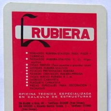Collectionnisme Calendriers: CALENDARIO DE FOURNIER , RUBIERA..., AÑO 1971. Lote 268164814