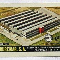 Collectionnisme Calendriers: CALENDARIO DE FOURNIER , CARBUREIBAR , AÑO 1973. Lote 268255014
