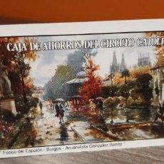 Coleccionismo Calendarios: CALENDARIO DE BOLSILLO FOURNIER PUBLICIDAD CAJA DE AHORROS DEL CIRCULO CATÓLICO (SALIDA1€). Lote 269059903