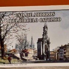 Coleccionismo Calendarios: CALENDARIO DE BOLSILLO FOURNIER PUBLICIDAD CAJA DE AHORROS DEL CIRCULO CATÓLICO (SALIDA1€). Lote 269060763