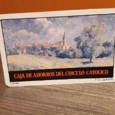 Coleccionismo Calendarios: CALENDARIO DE BOLSILLO FOURNIER PUBLICIDAD CAJA DE AHORROS DEL CIRCULO CATÓLICO (SALIDA1€). Lote 269061268