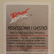 Coleccionismo Calendarios: CALENDARIO NAIPES COMAS ASSESSORIA 2007. Lote 269213698