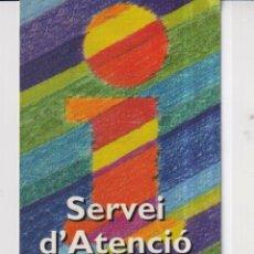 Collectionnisme Calendriers: CALENDARIO DE AÑO 2001 EN PUBLICIDAD DE UNION DE SERVEI CIUTADÁ SAC BADALONA EN CATALAN. Lote 269265293