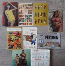 Coleccionismo Calendarios: 8 CALENDARIOS DE COLECCIÓN.. Lote 269271533