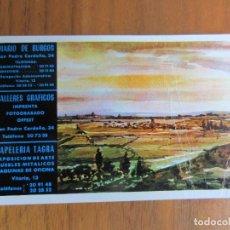 Coleccionismo Calendarios: CALENDARIO NO FOURNIER-DIARIO DE BURGOS-DEL 1978 VER FOTOS. Lote 270550308