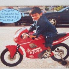 Coleccionismo Calendarios: CALENDARIO MOTO CON NIÑO 2004. Lote 271685413