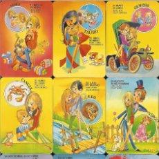 Coleccionismo Calendarios: 12 CALENDARIOS DE SERIE - 2000 - HORÓSCOPOS L COMPLETA. Lote 271685998