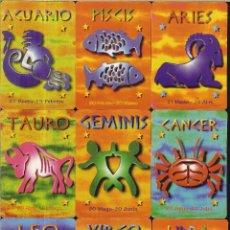 Coleccionismo Calendarios: 12 CALENDARIOS DE SERIE - 2000 - HORÓSCOPOS WCB COMPLETA. Lote 271689888