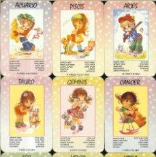Coleccionismo Calendarios: 12 CALENDARIOS DE SERIE - 2000 - HORÓSCOPOS EDIJAR COMPLETA. Lote 271690818