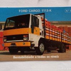 Coleccionismo Calendarios: CALENDÁRIO DE BOLSILLO FORD,FORD CARGO 1113-K. Lote 271691518