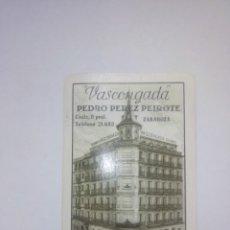 Coleccionismo Calendarios: CALENDARIO FOURNIER , SEGUROS VASCONGADA, SAN SEBASTIAN 1954. Lote 275936838