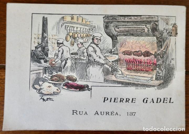 Coleccionismo Calendarios: CALENDARIO RENDEZ- VOUS DES GOURMETS- LISBONNE - 1906 - Foto 10 - 276921108