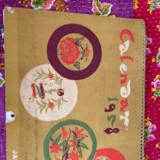 Coleccionismo Calendarios: CALENDARIO JAPÓN AIR LINES 1958. Lote 277156058