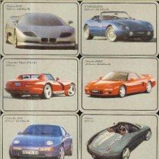 Coleccionismo Calendarios: 12 CALENDARIOS DE PORTUGAL - 1993 - COCHES. Lote 277531293