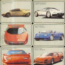 Coleccionismo Calendarios: 12 CALENDARIOS DE PORTUGAL - 1994 - COCHES. Lote 277531703