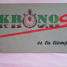 Coleccionismo Calendarios: CALENDARIO DE BOLSILLO - 1990 - KRONOS - SEMANARIO DEPORTIVO LOCAL. Lote 278450273