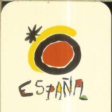 Collectionnisme Calendriers: CALENDARIO PUBLICIDAD - 1995 - TURISMO ESPAÑA - LOGO DE MIRÓ. Lote 278510243