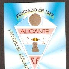Coleccionismo Calendarios: CALENDARIO DE BOLSILLO AÑO 2003 FÚTBOL - ALICANTE C.F. - VER FOTO REVERSO. Lote 279459053