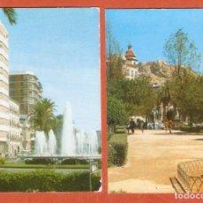 Coleccionismo Calendarios: 2 CALENDARIOS DE BOLSILLO DE SERIE AÑO 1969 ALICANTE - MISMA PUBLICIDAD - VER FOTO REVERSOS. Lote 279465138
