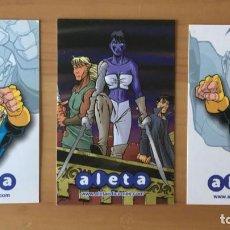 Coleccionismo Calendarios: 3 CALENDARIOS DE BOLSILLO PUBLICITARIOS AÑO 2007 CÓMIC - ALETA EDICIONES. Lote 279721328