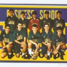 Coleccionismo Calendarios: CALENDARIO BOLSILLO AÑO 1996 FÚTBOL SALA - BUSINESS SCHOOL SARRIKO - PAÍS VASCO - VER FOTO REVERSO. Lote 279732408
